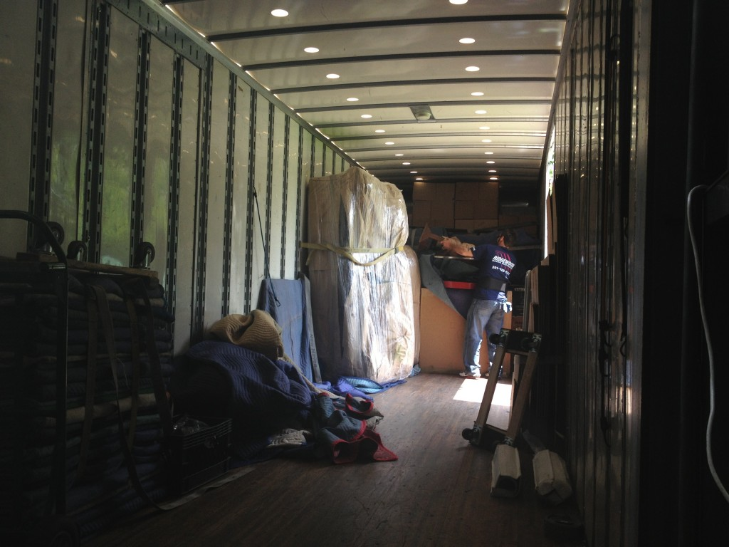Hereu0027s The Inside Of The Truck! There Are Only A Few Items Left For Our